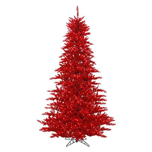 Vickerman-Tinsel-Red-Fir-Trees-Red-Christmas-Tree-with-100-Red-Mini-Lights