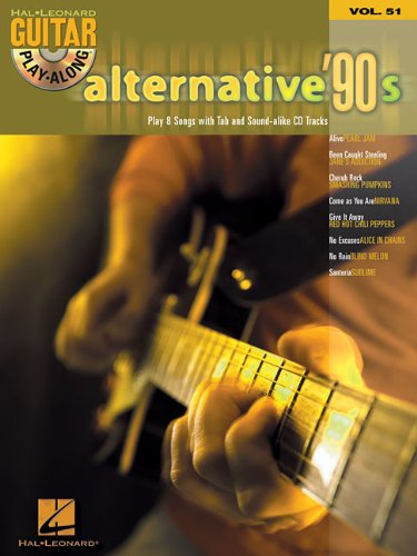 Alternative '90s: Guitar Play-Along Volume 51