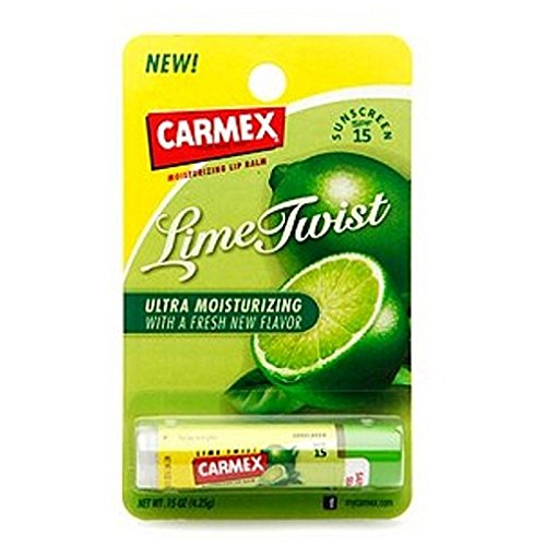 Carmex Lime Stick Size .15z Carmex Lime Stick, Pack of 2