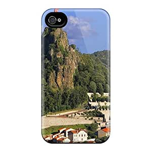 Awesome Design Fantastic Statue Church On Cliffs Above A Town Hard Cases Covers For Iphone 6