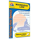 Moosehead Lake Fishing Map