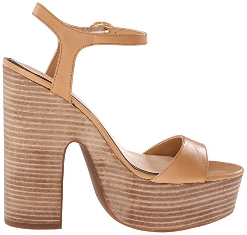 Jessica Simpson vestido de las mujeres del remolino plataforma sandalias Ambra