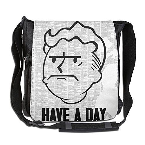 [Fallout Vault Boy Cross Body Bag Pack] (Out Of Your League Costumes)