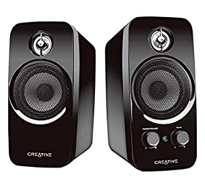 creative inspire t10 2 0 multimedia speaker system with basxport technology electronics. Black Bedroom Furniture Sets. Home Design Ideas