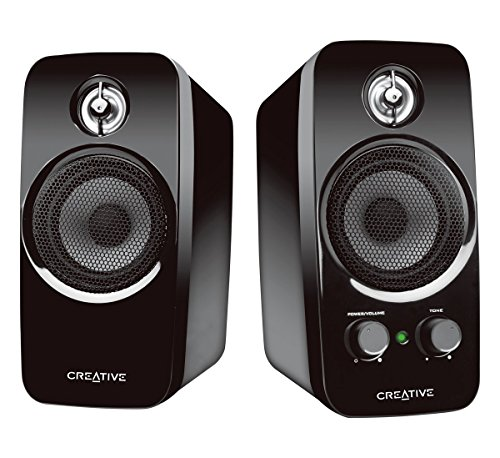 Creative Inspire T10 2.0 Multimedia Speaker System with BasXPort Technology