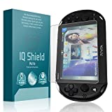 Sony PS Vita Screen Protector, IQ Shield Matte Full Coverage Anti-Glare Screen Protector for Sony PS Vita (PCH-2000) Bubble-Free Film - with