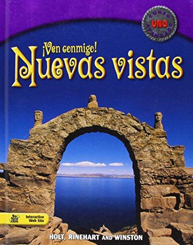 Nuevas vistas: Student Edition Curso uno 2003