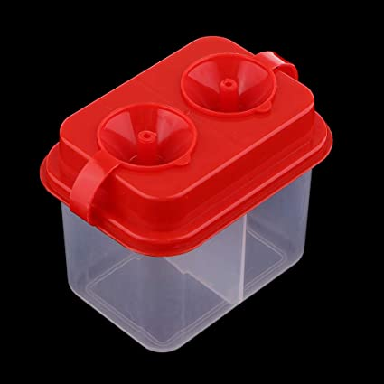 2pcs Paint Brush Cleaner Washer Container Lid Holder Pigment Cups Palette