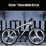 Adulti Mountain Bike, Spiaggia motoslitta Biciclette, Biciclette Doppio Disco Freno, Uomo Donna Generale 26 Pollici in…
