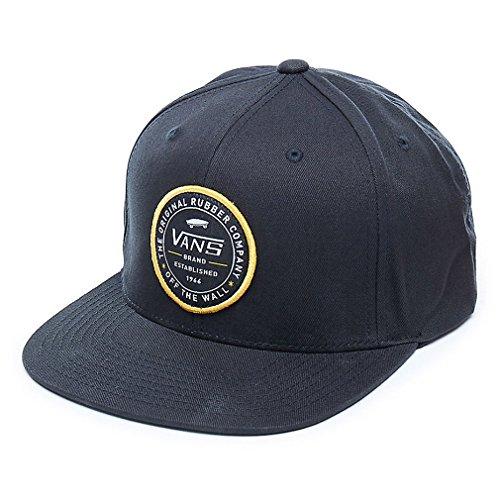 """Vans """"Established 66"""" Snapback Hat (Black) Men's Off The Wall Skate Cap from Vans"""