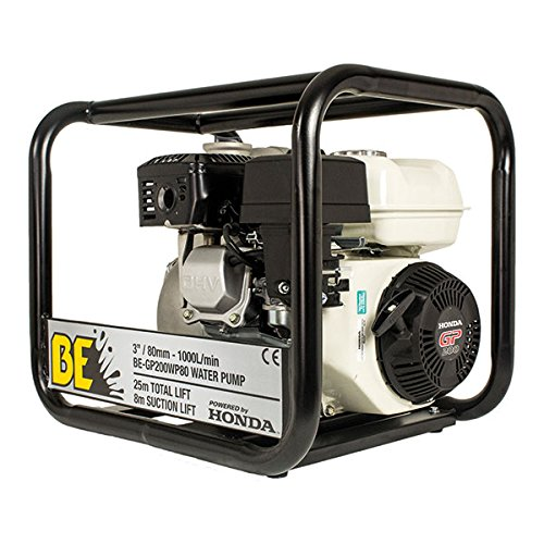 BE Pressure BE-GP200WP80196 cc GP200 3 inch Professional Petrol Water Pump