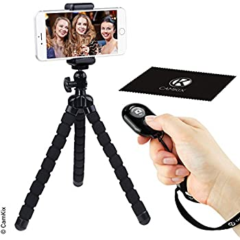 Amazon.com: Flexible Cell Phone Tripod and Bluetooth