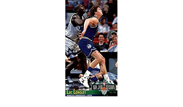 1993-94 Jam Session #132 Luc Longley at Amazons Sports ...