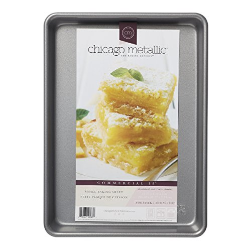 Chicago Metallic Commercial II Traditional Uncoated Small Jelly Roll Pan, 12-1/4 by 8-3/4-Inch by Chicago Metallic (Image #4)