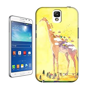 Natalie Works Unique Design Huge Giraffe and Little Fishes TPU Hard Cases for Samsung Note 3 Hot Sell Protective Case