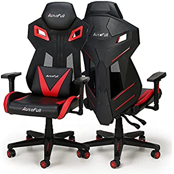 AutoFull Gaming Chair - Video Game Chairs Mesh Ergonomic High Back Racing Style Computer Chair for Adults with Lumbar Support (1 Pack)