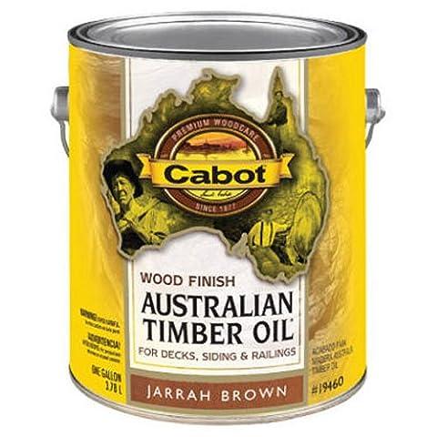 CABOT SAMUEL INC 19460-07 Australian TimGAL BRN WD Finish - Wd Wood Finishes
