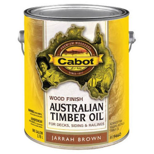 Timber Cabot Oil Australian (CABOT SAMUEL INC 19460-07 Australian TimGAL BRN WD Finish)