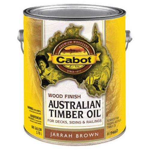 Timber Cabot Australian Oil (Cabot Samuel Inc 19460-07 AusTimGAL BRN WD Finish, 1 gal, Jarrah Brown)