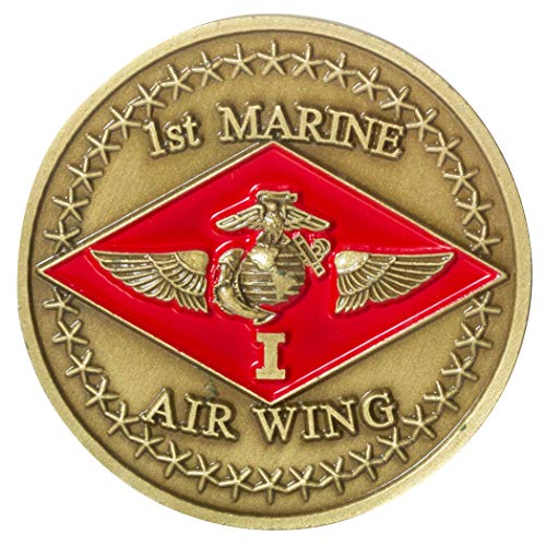 United States Marine Corps 1st Marine Air Wing Challenge Coin (Wing Challenge Coin)