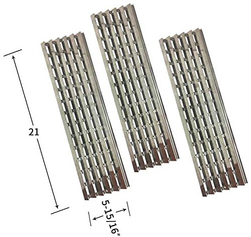 Viking VGBQ300T, VGBQ410-3RT/E, VGBQ410T, VGBQ412-2RT/E, VGBQ412T Heat Shield (3-Pack) (Grill Viking Outdoor Parts)