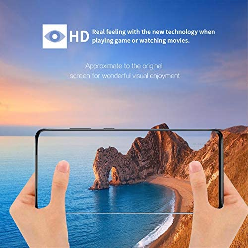 Galaxy S20 Tempered Glass Screen Protector[2 Pack] + 1 Pack Camera Lens Protector Support Fingerprint for Samsung Galaxy S20 4G/5G