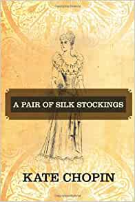 A pair of silk stockings by