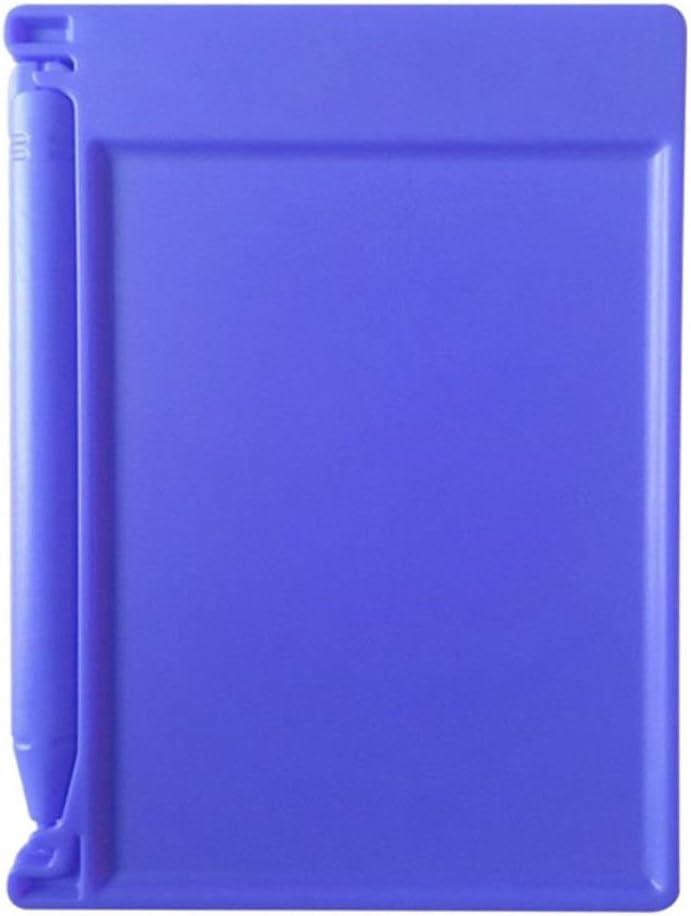 Blue Vaorwne LCD Writing Tablet Paperless Memo Pad Writing Drawing Board 4.4