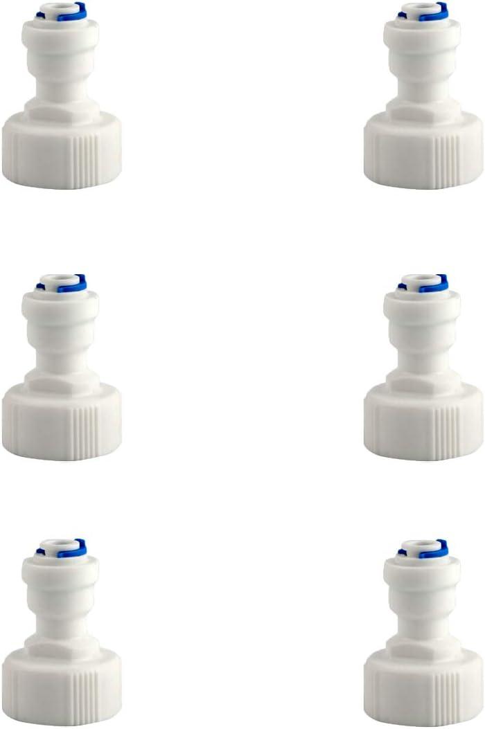 ESHIONG RO(Reverse Osmosis)Hose bib Adapter,NSF Certified Straight 3/4