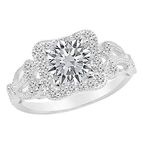 0.95 Ct Tw Round Diamonds - 3
