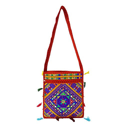 Hmong Large Tote Embroidered Bag Carry Purse Indian Women Shoulder New Handbag