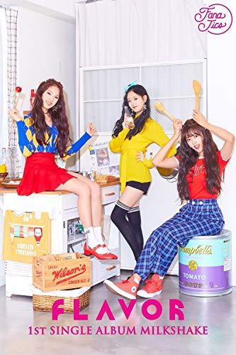 LOEN Entertainment Flavor - Milkshake (1st Single Album) CD+Photobook+2Photocards+Folded Poster