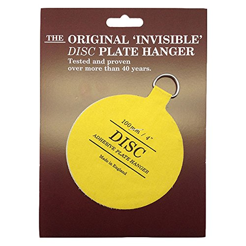 4  Disc Adhesive Plate Hanger  sc 1 st  Amazon UK & 50mm Invisible Disc Plate Hanger: Amazon.co.uk: DIY u0026 Tools