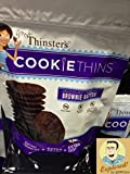 Mrs. Thinsters Cookie Thins Brownie Batter 4oz (Pack of 12)