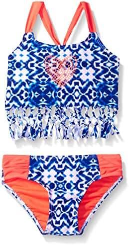Limited Too Girls' Tie Dye Tankini