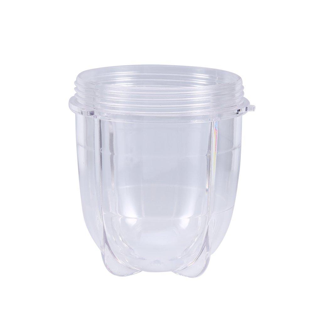 Zerone Taza Grande de Repuesto para Mezclador mágico de 250 W (Altura y Corto), Transparente Alto: Amazon.es