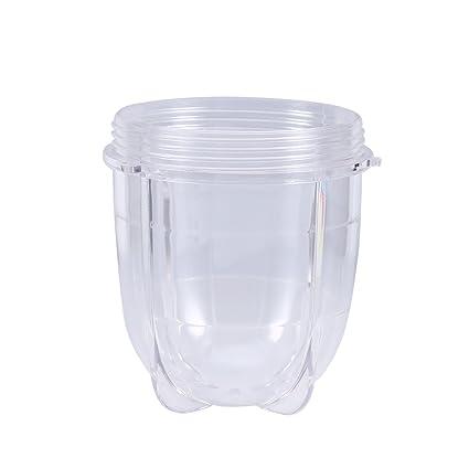 Fdit Blender Juicer Plastico Vaso Piezas de Repuesto Accesorios Alto/Corto Transparente Jarra Socialme-