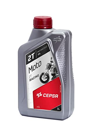 CEPSA 514204187 Lubricante de Tecnología Sintética para Motos de 2T: Amazon.es: Coche y moto