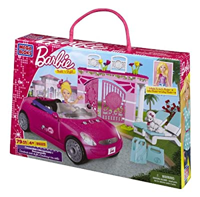 Mega Bloks - Barbie - Build 'n Style Convertible from Mega Bloks Inc