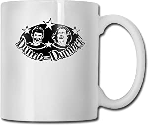 Efgaf Coffee Mug Cups Dumb and Dumber High-Quality White Design Funny Tee Cup Gift for Fans Husband Wife Girlfriend