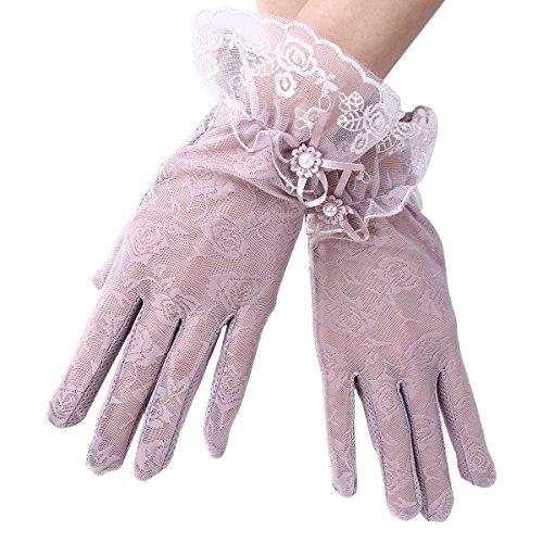 Tinksky Women Summer Gloves...