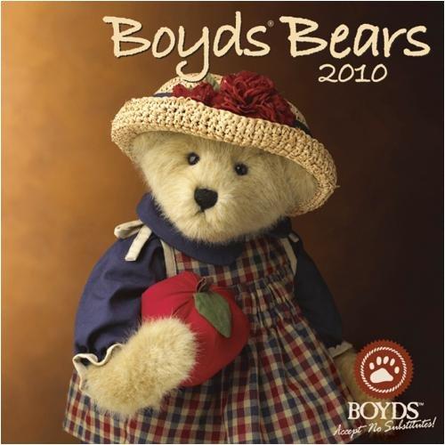 Boyds Bears 2010 Wall Calendar (2010 Bears Calendar)