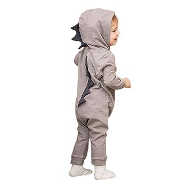 800187390 FAVOLOOK Dinosaur Baby Romper
