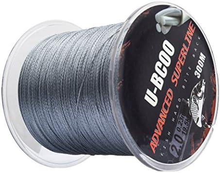 U-BCOO Wear Braided Wire – Super Braided Fishing Line – Incredible Super Line – Zero Stretch