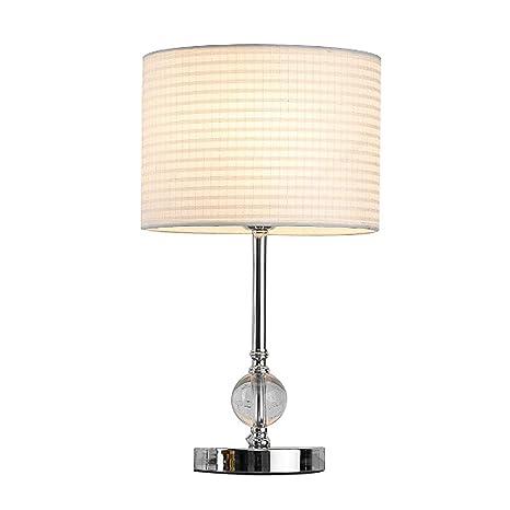 Amazon.com: CCSUN Lámpara de mesa de dormitorio de cristal ...