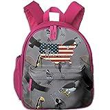 USA Wrestling Toddlers Fashion Backpack School Bag