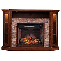 Southern Enterprises Redden Infrared Electric Media Fireplace by Southern Enterprises LLC