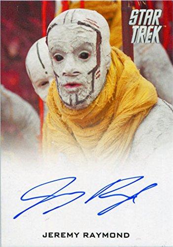 (Star Trek Beyond Autograph Card Jeremy Raymond as Nibiru Leader)