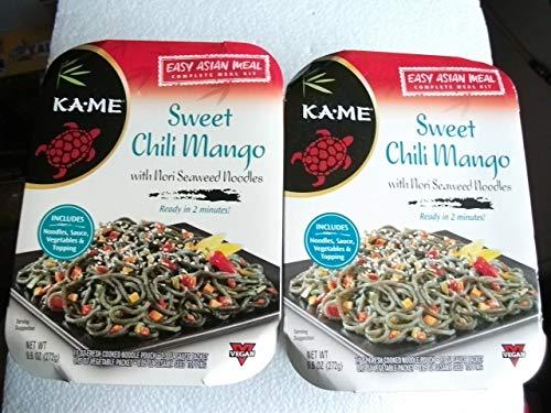 - KA-ME Easy Asian Complete Meal Kit (2 Boxes) Sweet Chili Mango (each box 9.6 oz)