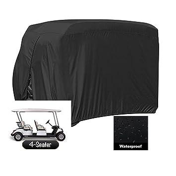 Cubiertas para carrito de golf. Cubierta para lluvia de carrito de golf con material 210D duradero ...